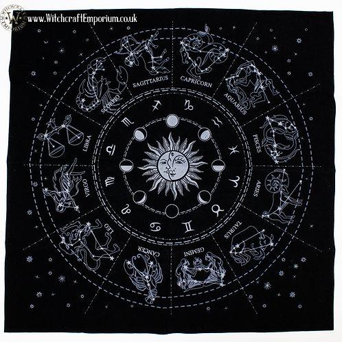 Zodiac Tarot & Runes Mat