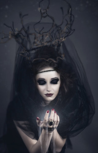 Dark Priestess Fridge Magnet