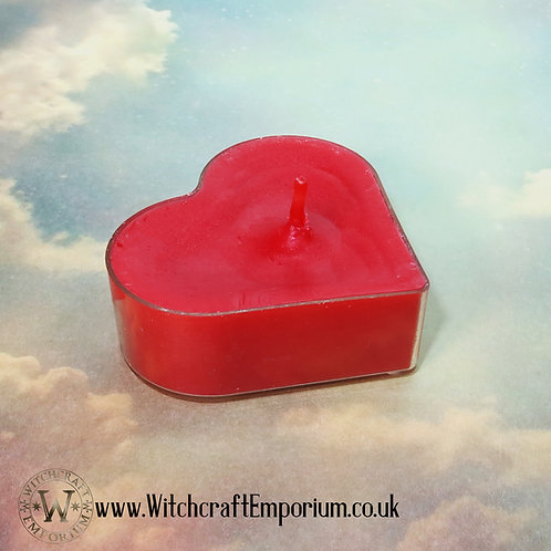Heart Tealight Candles