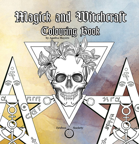 Magick and Witchcraft Colouring Book
