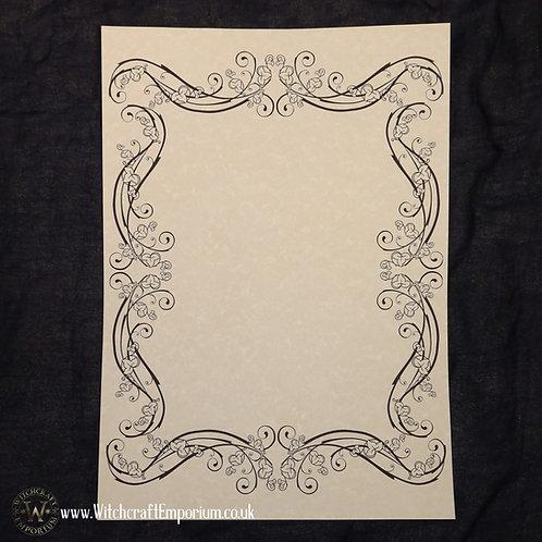 Ornate Parchment Paper #6