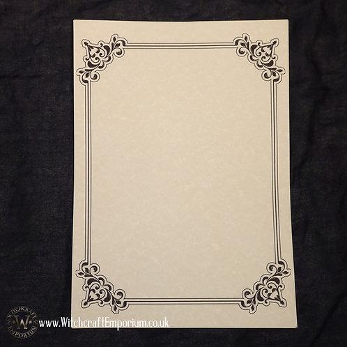 Ornate Parchment Paper #1