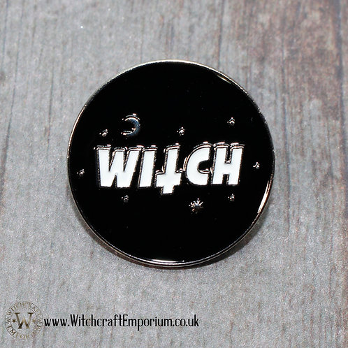 White Witch Pin
