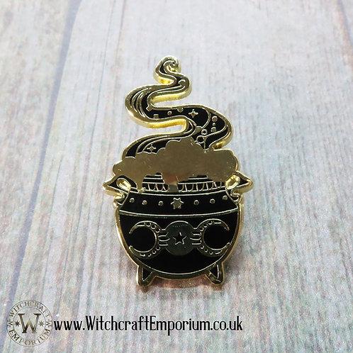 Witch's Cauldron Pin