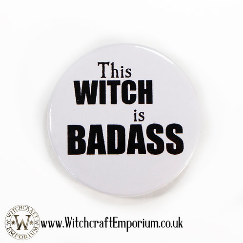 This Witch is Badass Badge