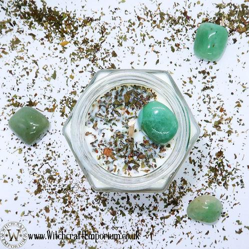 Wealth - Ritual Jar Candle