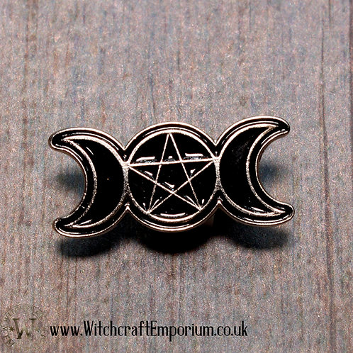 Triple Moon Pin