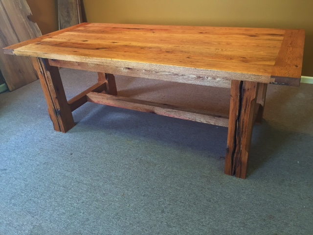 Oak Farm Table