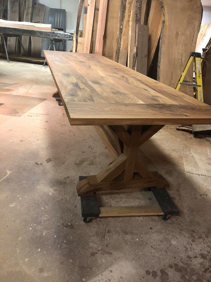 White Oak Feast Table