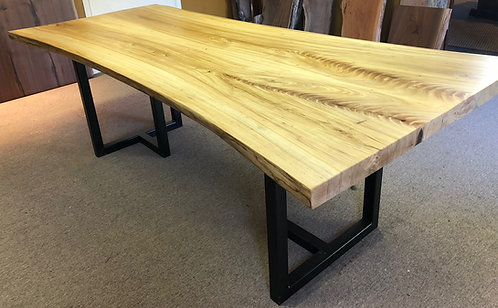 Live Edge Ash Dining Table