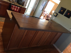 Walnut Slab Countertop