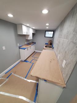 Kitchen space, progress