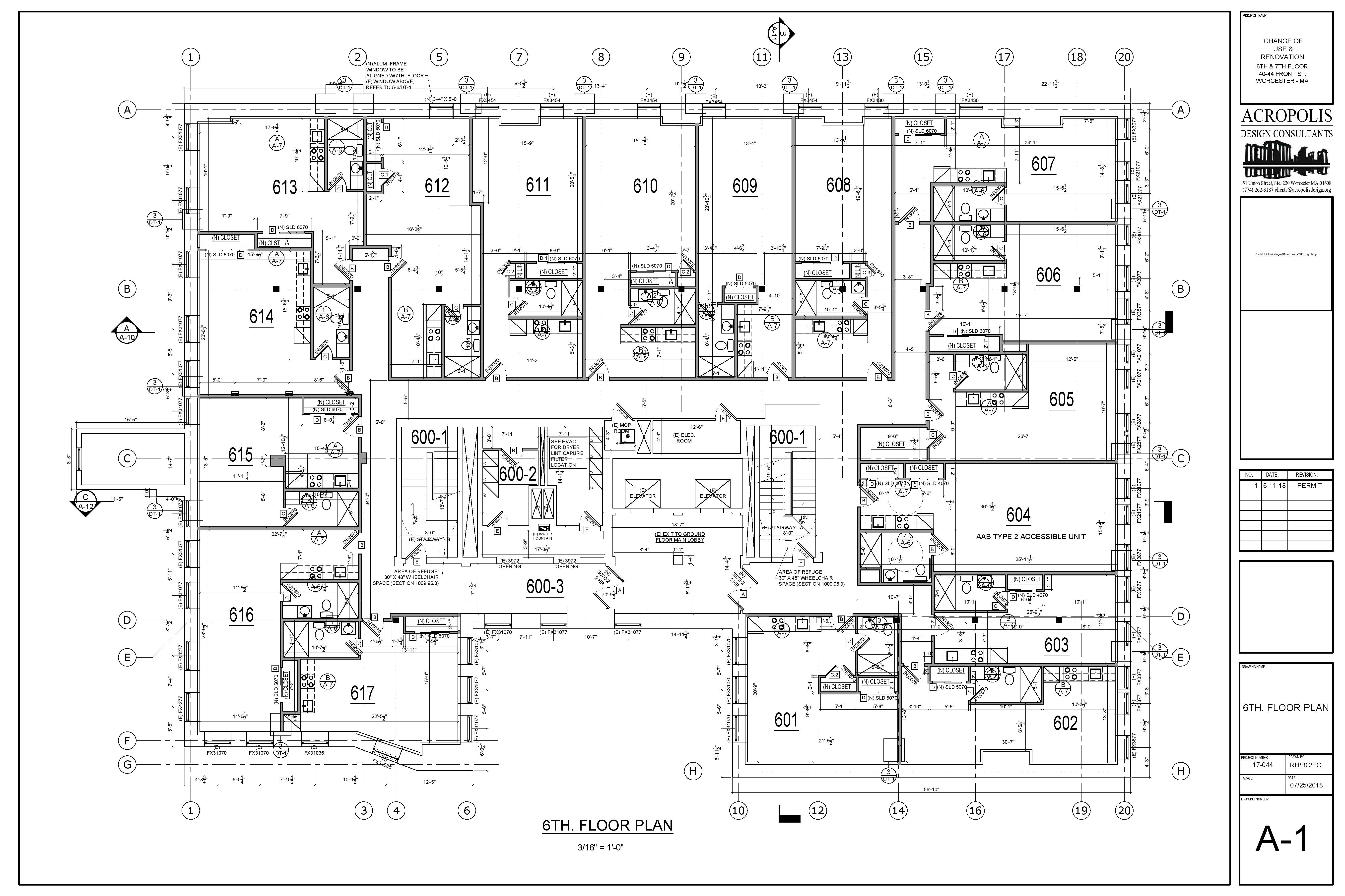 Proposed Floor plans