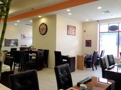 nail salon pedicure tables