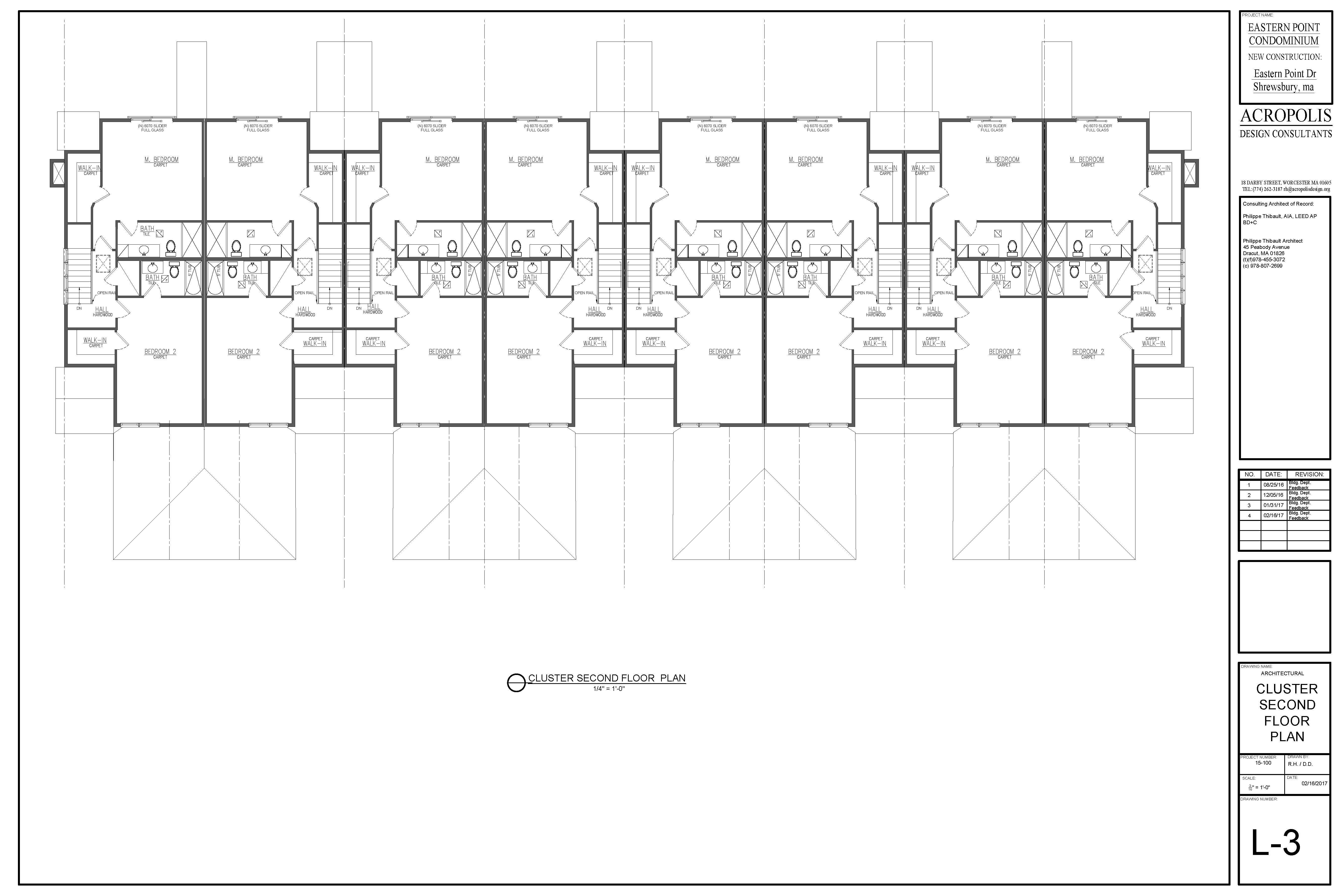 Cluster Second floor plan