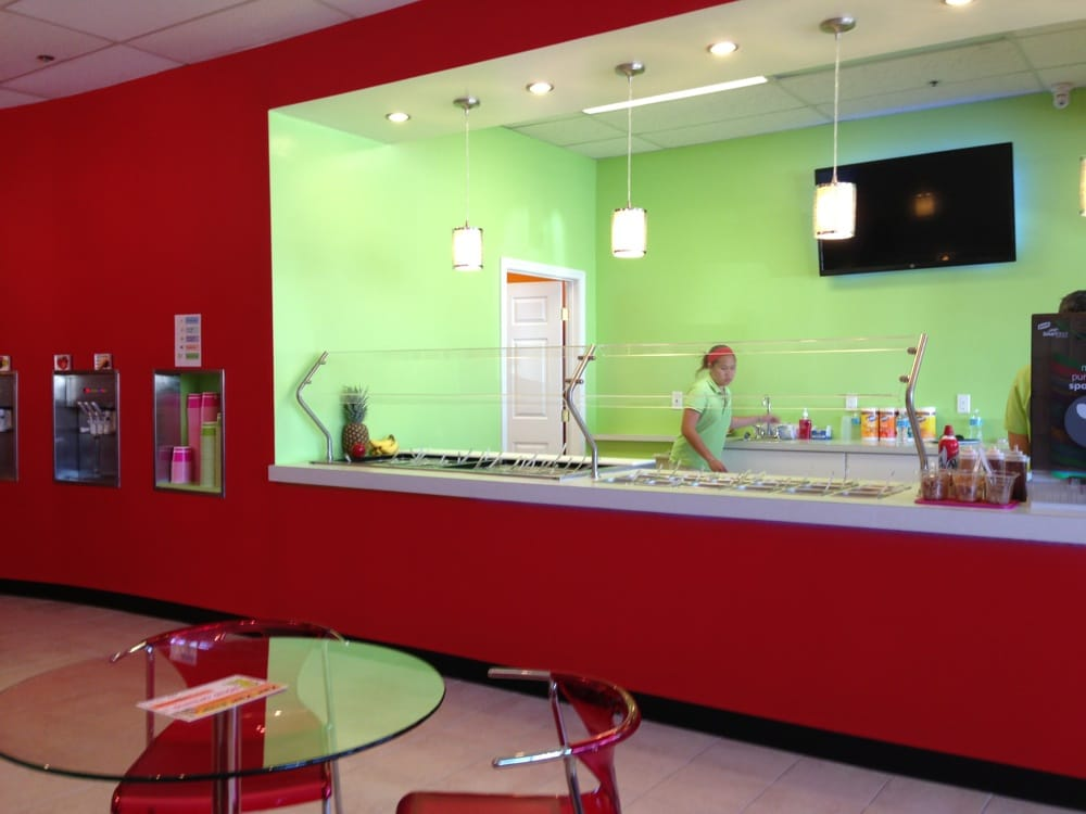 Commercial - Yogurt store