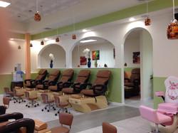 nail salon chairs