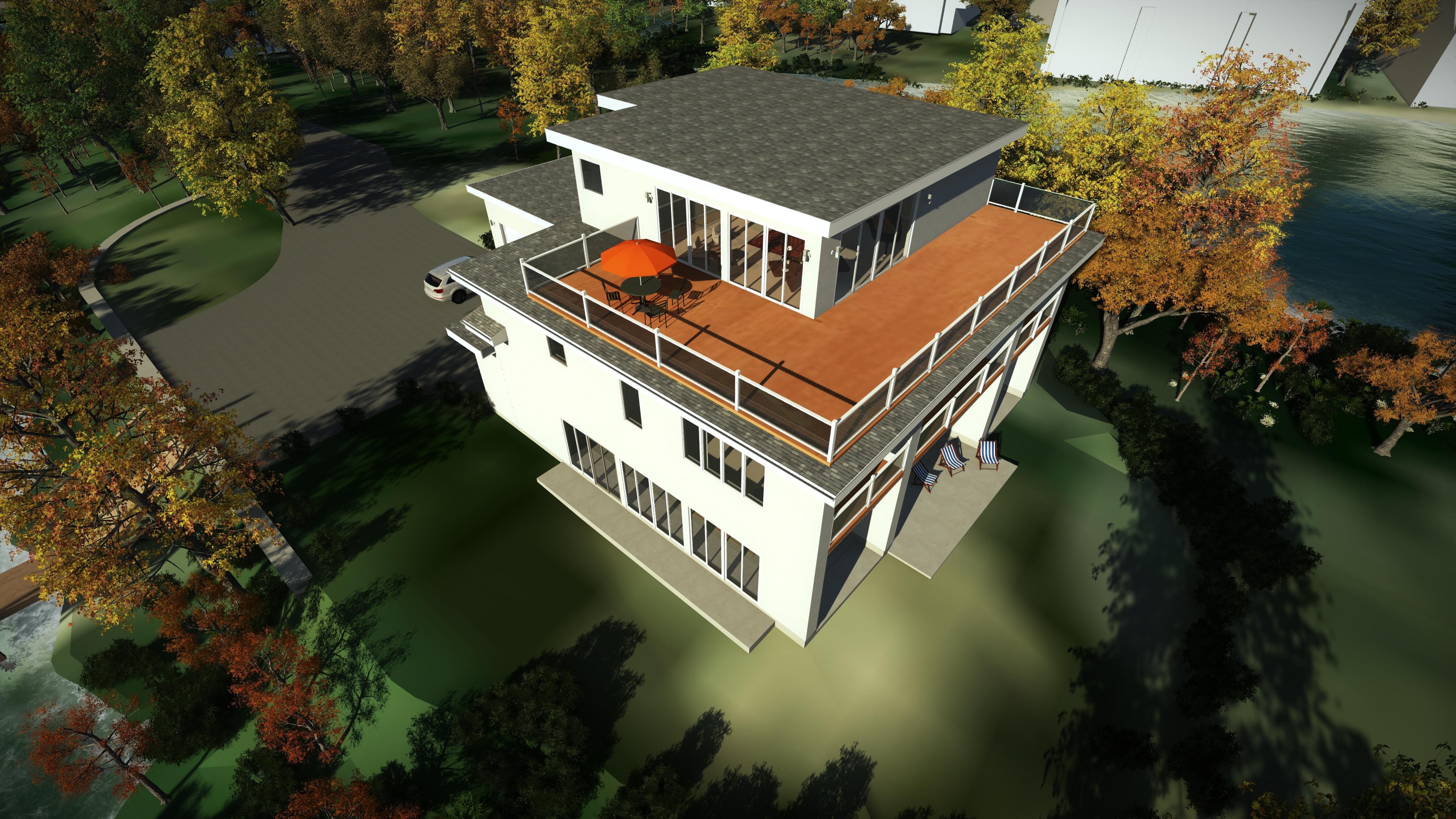 Exterior 3D Modeling