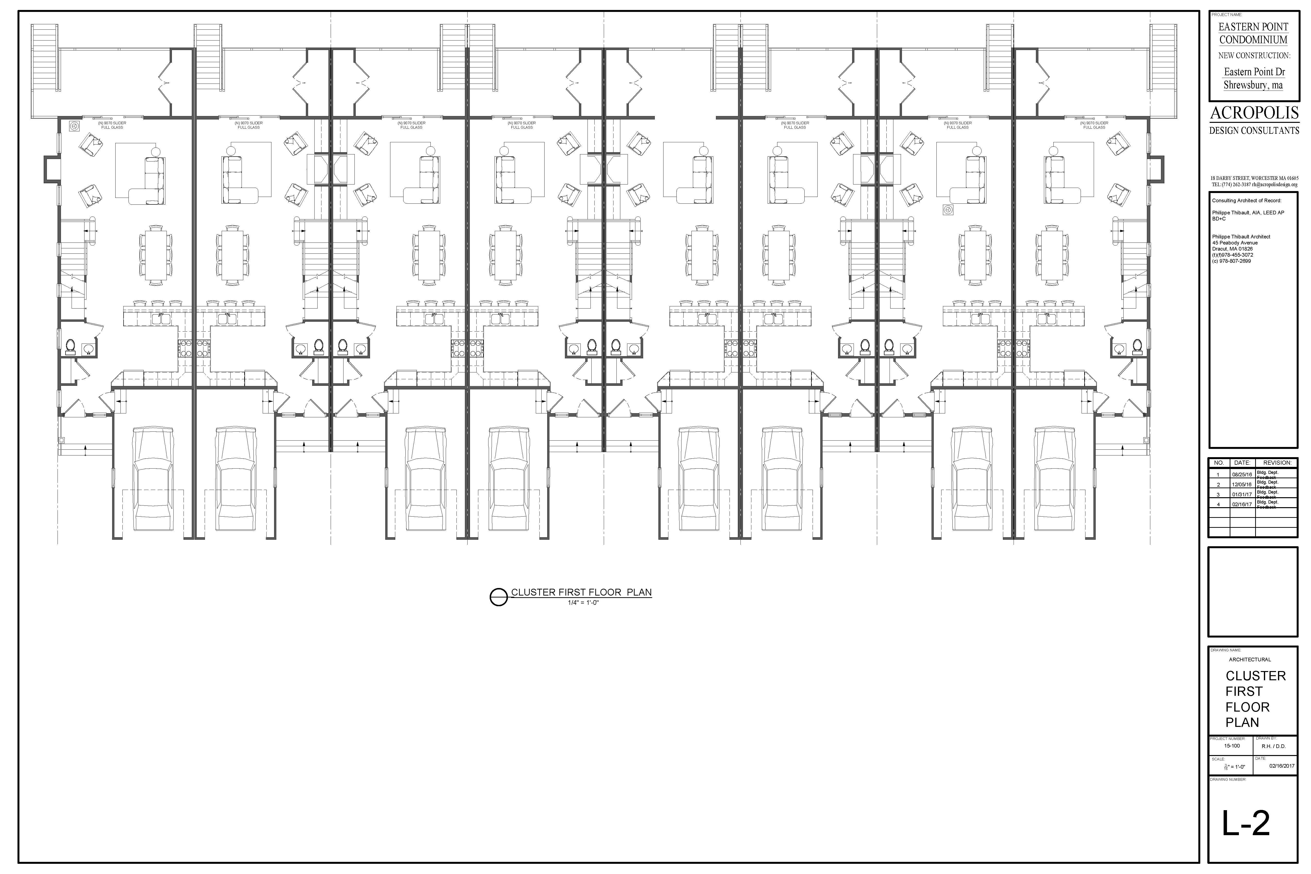 Cluster First floor plan