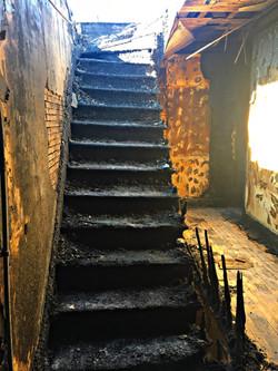 Stair damage
