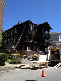 Damaged Building - Front