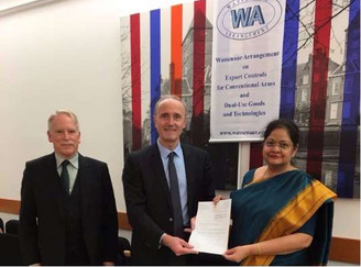 The Wassenaar Arrangement: India admitted as member