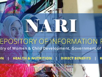 Online portal 'NARI' for women empowerment