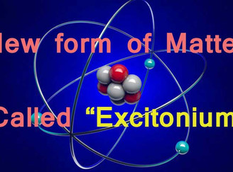 A new form of matter: Excitonium
