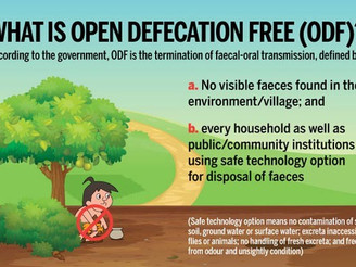 Arunachal Pradesh declared Open Defecation Free State