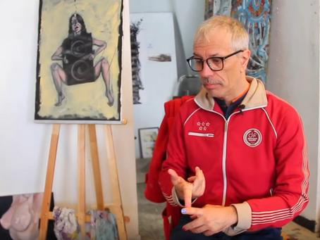 """Rebellion and Creation"": Gaspard Delanoë, artist and activist"