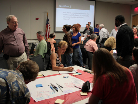 Community meeting addresses affordable housing
