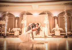 Cold Spark Fountain for First Dance