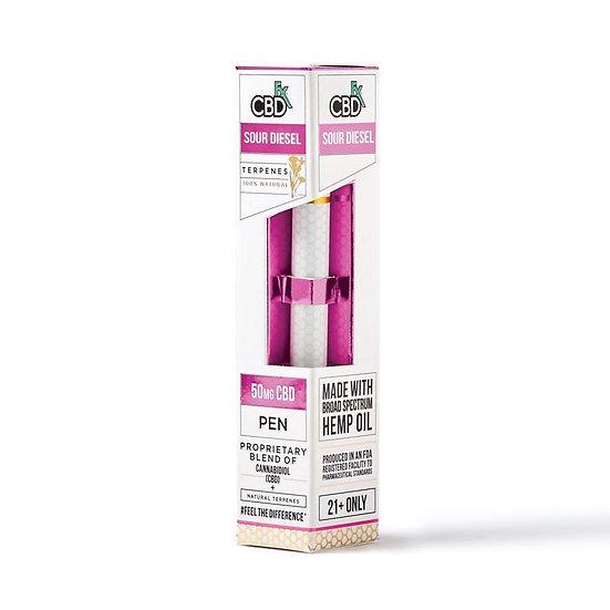 CBDfx - CBD Terpenes Vape Pen - Sour Diesel - 50mg