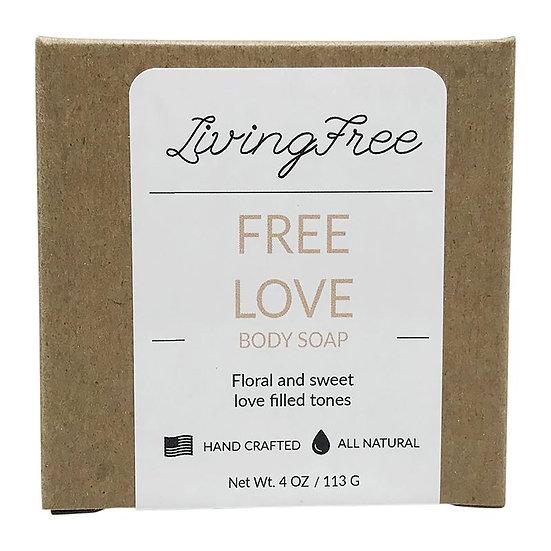 Free Love Body Soap