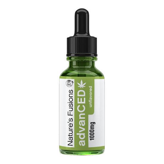THC-Free Hemp Extract (1oz) - Natural - 1000mg