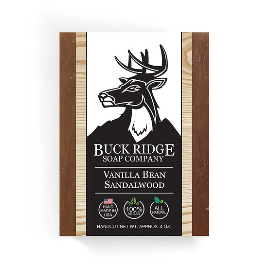 Vanilla Bean Sandalwood Handmade Soap