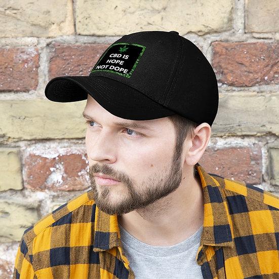 CBD is Hope not Dope - Pro CBD supporter Hat