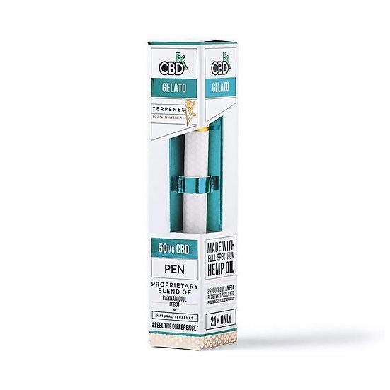 CBDfx - CBD Terpenes Vape Pen - Gelato - 50mg