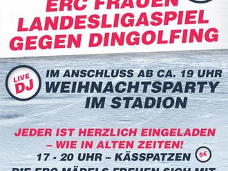 Erst Landesligaspiel, dann Weihnachtsparty!