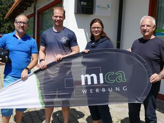 mica-Werbung wird neuer Helmsponsor des ERC Sonthofen