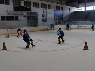 Eishockeycamp im tschechischen Slaný