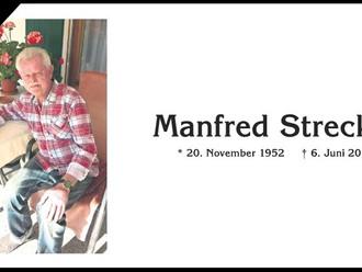 Nachruf Manfred Streckel