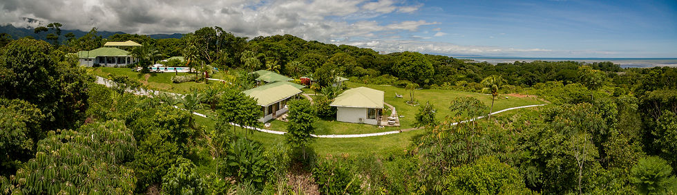 Aerial Photography of Hotel in Costa Rica