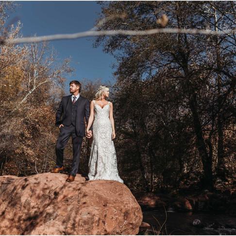 L'Auberge de Sedona / Bell Rock Boho Elopement / Sedona, AZ / Maddie + Justin