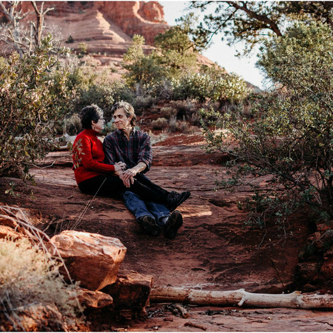 Bell Rock Anniversary / Sedona, AZ / Mary-Ann + Don