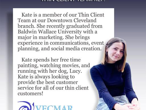 Employee Bio: Kate