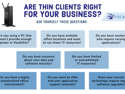 Thin Client Thursday: Are Thin Clients Right for Your Business?
