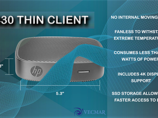 Thin Client Thursday: HP t430