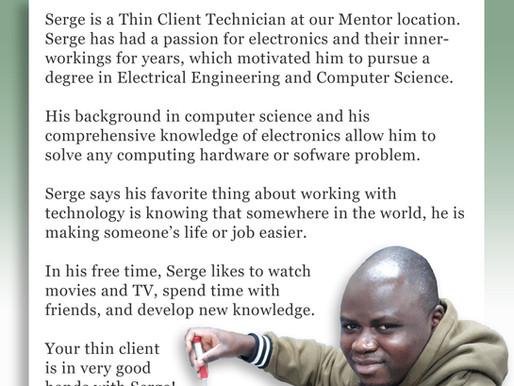 Employee Bio: Serge