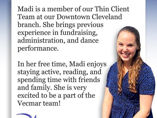 Employee Bio: Madi